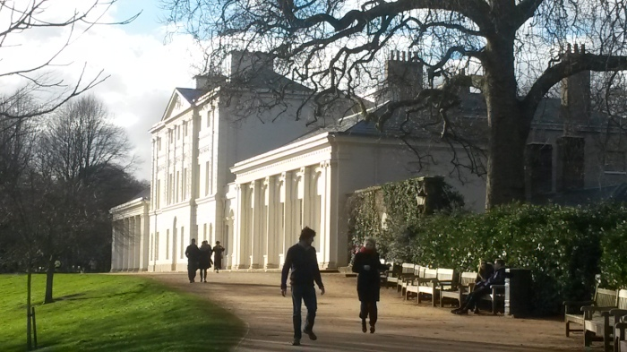 Kenwood House's newly refurbished front