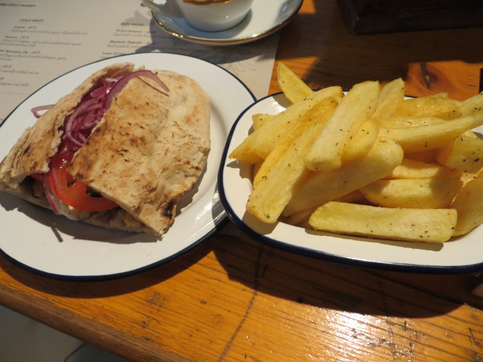 Pork Belly Wrap with Chips - Wow!