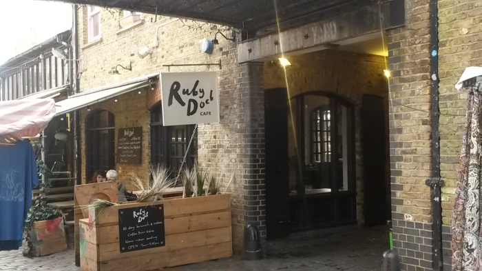 Tucked away in the centre of the market is a coffee oasis