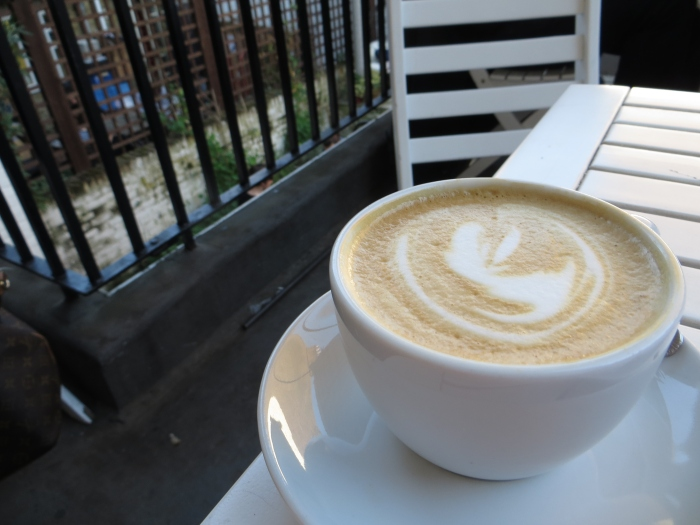 Don't jump! The cappuccino considers life after the flat white