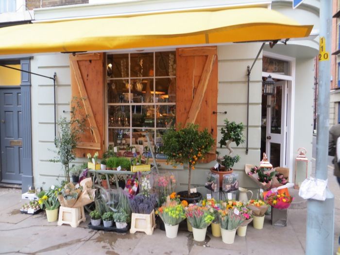 Not a flower shop - a deli