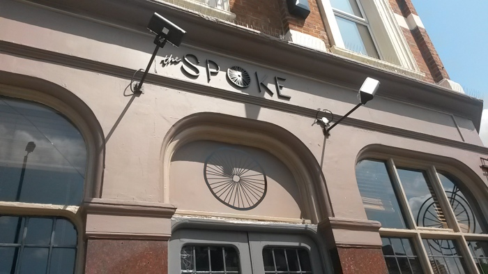 cafe, the spoke, bikes, holloway road