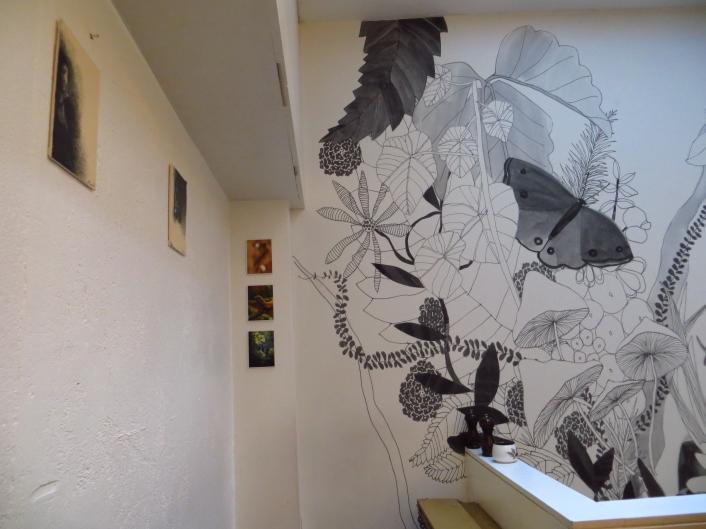Beautiful murals inside Lantana