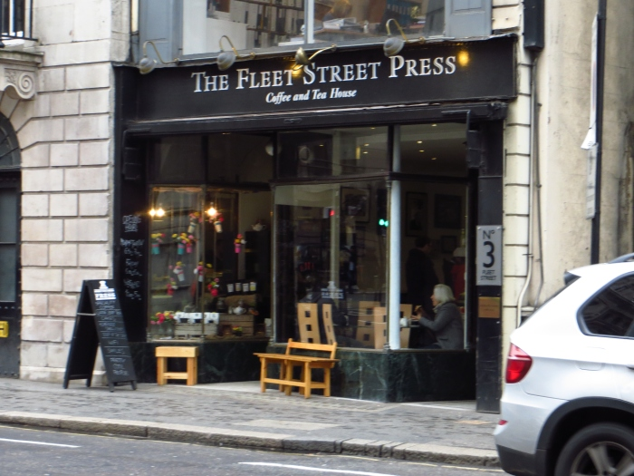 I'd be hard-pressed to find a better coffee on Fleet Street