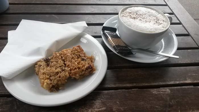 Coffee and Cake at Forks and Corks
