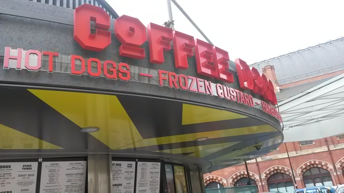 Coffee Dogs - another entry into the packed hotdog/coffee/frozen custard market