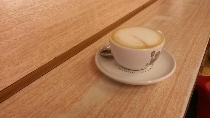 A surprisingly creamy coffee
