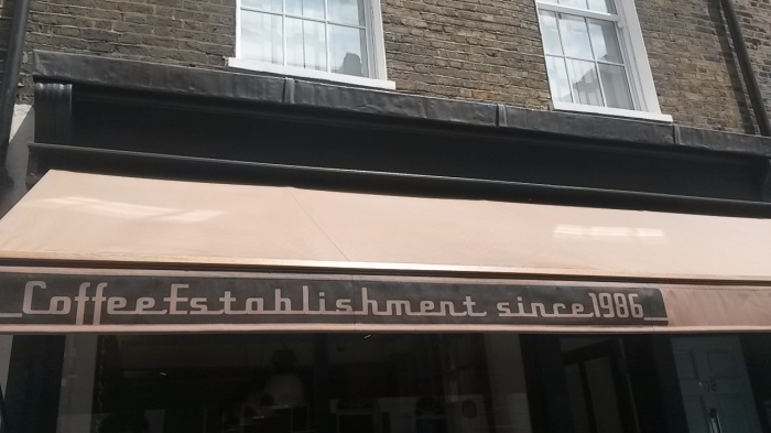 Slightly misleading name for the relatively new cafe